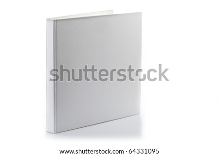 The book with a white cover - stock photo