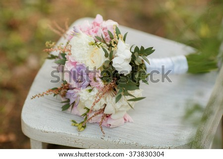 The bouquet - stock photo