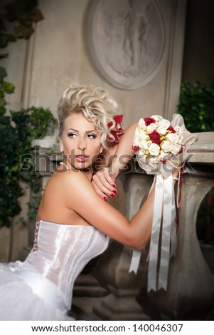 The bride in the castle