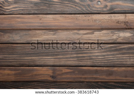 the brown wooden background