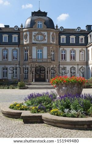 The Buesing Palace in Offenbach am Main, Germany. Baroque Revival style. - stock photo