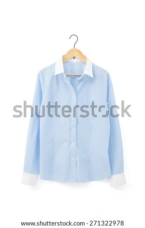 the business blouse - stock photo