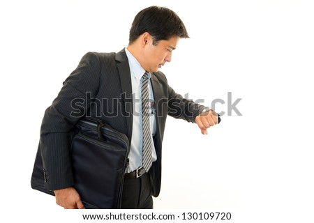 The Busy Businessman