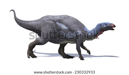 The camptosaurus was plant-eating, beaked ornithischian dinosaur that lived during the Late Jurassic period.