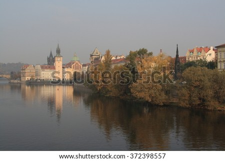 The capital of Czech Republic, Prague, eyar 2011