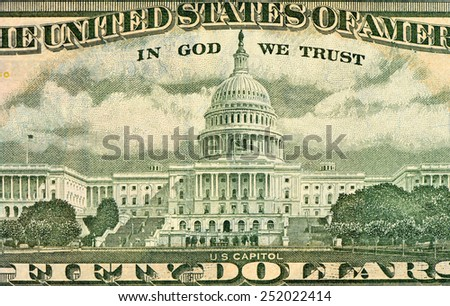 The Capitol - stock photo