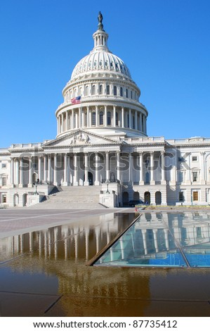 The Capitol Reflected in the Pool