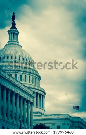 The Capitol - Washington D.C. United States of America  - stock photo