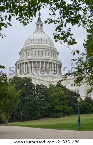 The Capitol - Washington D.C. United States of America  - stock photo