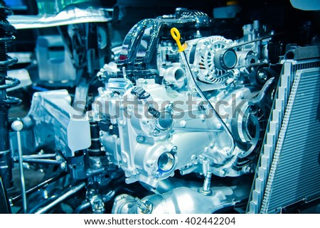 The car engine, Engine , Car engine background