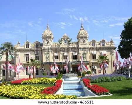 The Casino of Monte Carlo, Monaco - stock photo