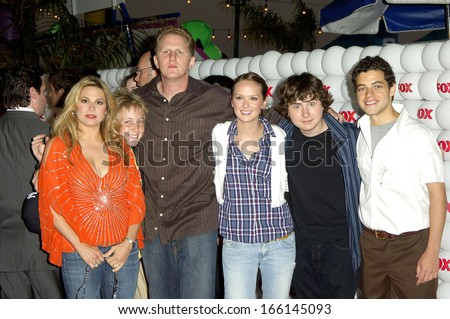 The cast of THE WAR AT HOME at FOX ALL-STAR PARTY for TCA Press Tour, The Santa Monica Pier, Los Angeles, CA, July 29, 2005