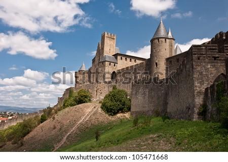 the castle - stock photo