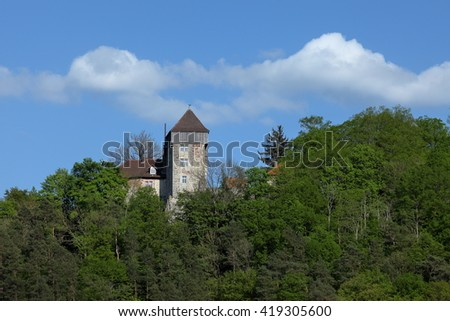 The Castle Fuerstenstein in Germany