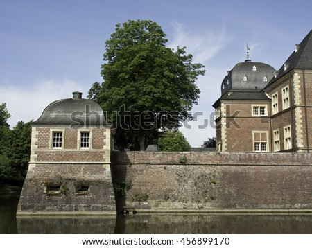the Castle of Ahaus in germany