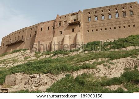 The Castle of Erbil, Iraq. - stock photo