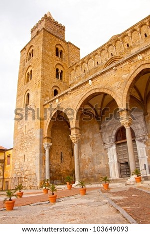 The Cathedral-Basilica of Cefalu.