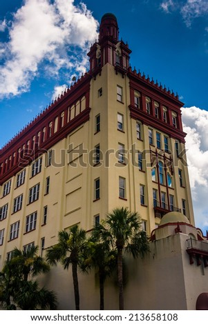 The Cathedral Basilica of St. Augustine, Florida. - stock photo