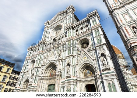 The Cathedral of Florence.