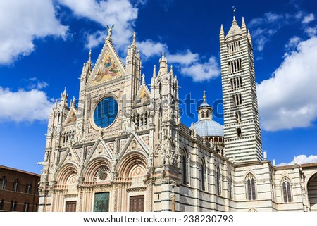The Cathedral of Siena (Duomo di Siena), Italy