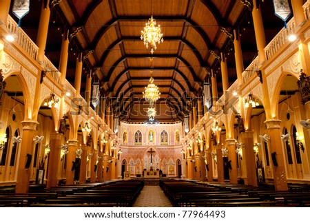 the cathedral of the immaculate conception, Chanthaburi, Thailand