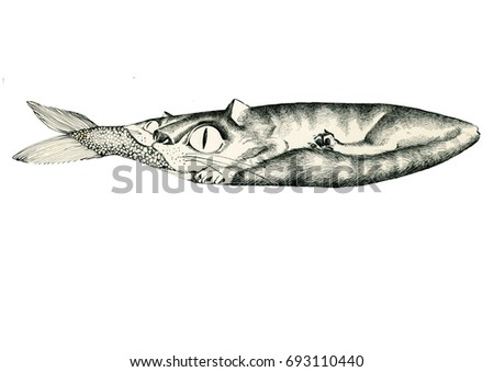 Pussy eating stock images royalty free images vectors for Fish in pussy