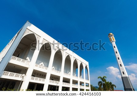 The Central Mosque Songkhla, Thailand, A place for ritual treatment of Islam