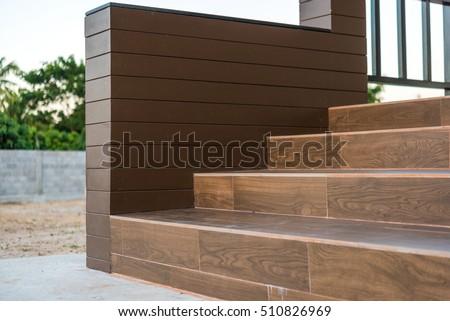 Ceramic Tile Staircase Steps Ceramic Floor Stock Photo Edit Now