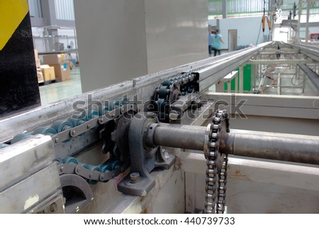 the chain drive shaft Line Conveyor Industrial