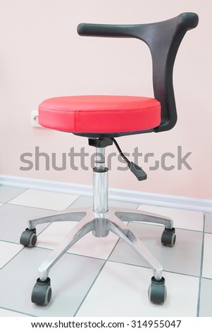 The chair at the medical center