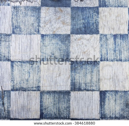 the chessboard pattern - stock photo