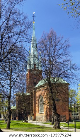 The Church of Saint Clare or Klara Church is a church in central Stockholm.