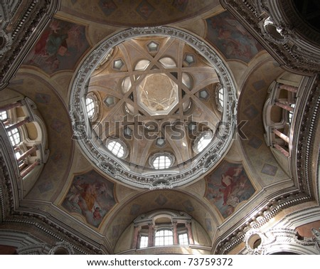 The church of San Lorenzo Turin Italy
