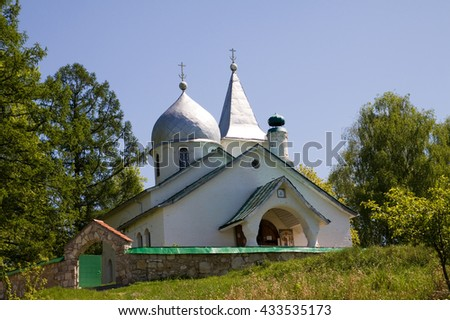 The Church of the Holy Trinity in the village of Bekhovo Tula region.