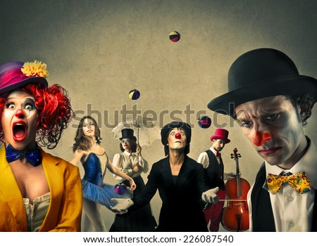 The circus  - stock photo