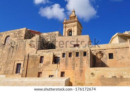 The Citadel,island Gozo,Malta - stock photo