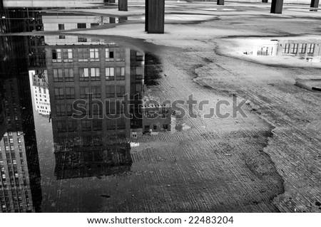 The City Below - stock photo