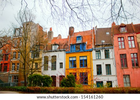 The city Lille, France - stock photo