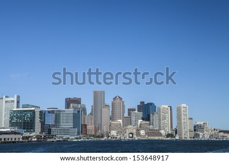The City of Boston Massachusetts