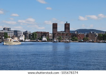 the city of Oslo in Norway