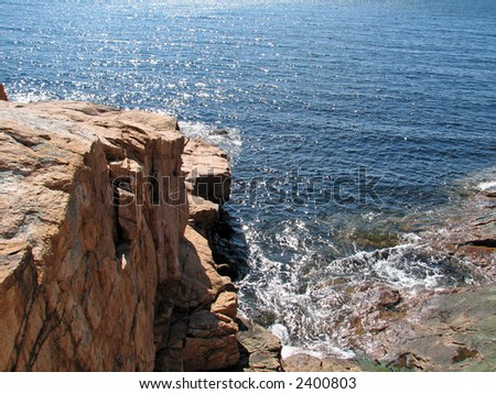 The Cliffs of Gloucester - stock photo