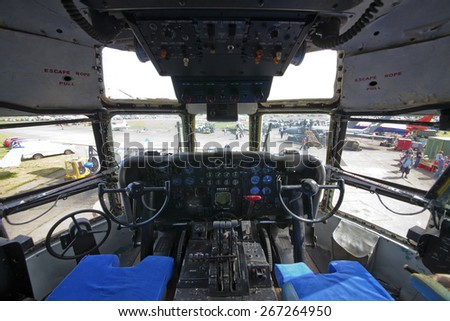 Cockpit Escape Ropes