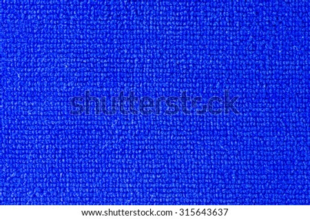 The color of fabric is blue.