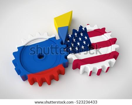 Ukraine Russia Stock Images RoyaltyFree Images Vectors - Map ukraine over us
