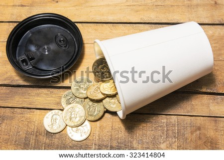 The concept of financial issue - stock photo