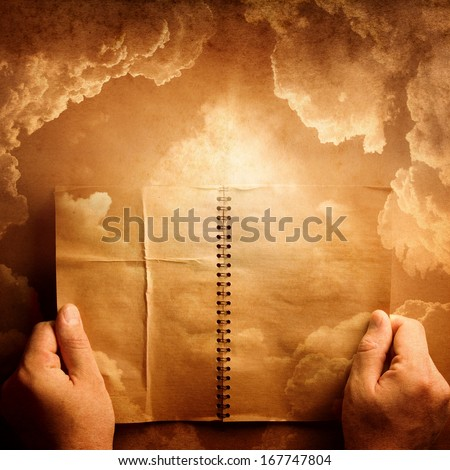 The concept on religion, philosophies - stock photo