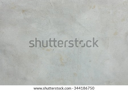 The concrete surface