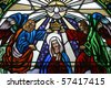 The Coronation of the Blessed Virgin Mary - stock photo