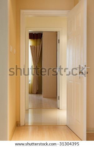the corridor in a house