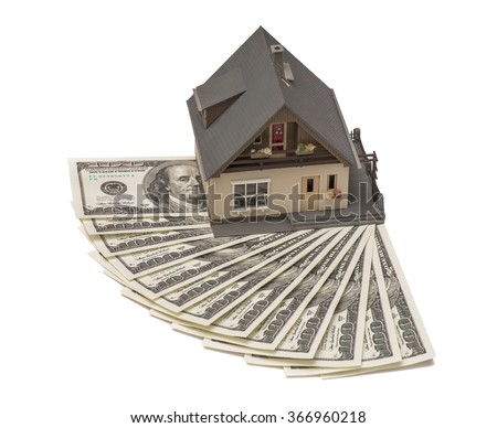 The cost of housing, the purchase, sale - stock photo